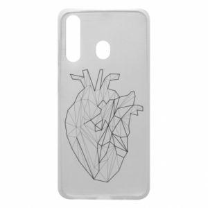 Etui na Samsung A60 Heart line