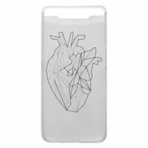 Etui na Samsung A80 Heart line
