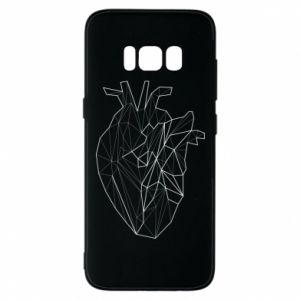 Etui na Samsung S8 Heart line