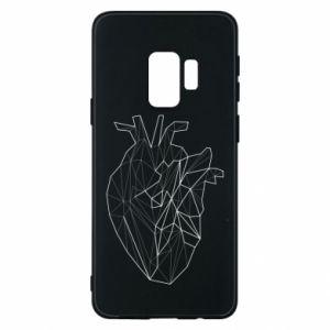 Etui na Samsung S9 Heart line