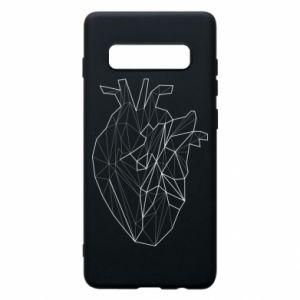 Etui na Samsung S10+ Heart line