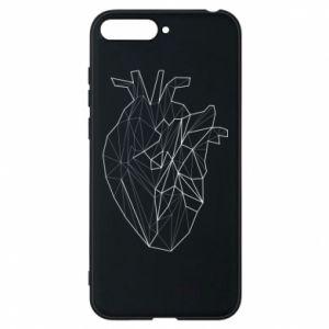 Etui na Huawei Y6 2018 Heart line