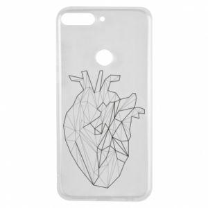 Etui na Huawei Y7 Prime 2018 Heart line