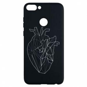 Etui na Huawei P Smart Heart line