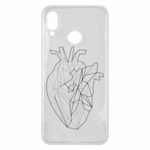 Etui na Huawei P Smart Plus Heart line