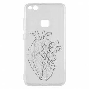 Etui na Huawei P10 Lite Heart line