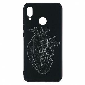 Etui na Huawei P20 Lite Heart line