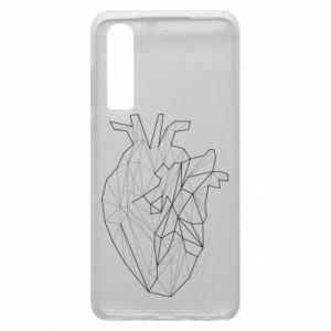 Etui na Huawei P30 Heart line