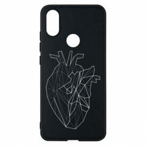 Etui na Xiaomi Mi A2 Heart line