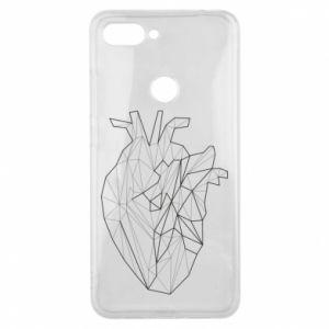 Etui na Xiaomi Mi8 Lite Heart line