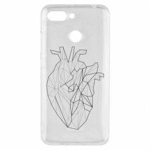 Etui na Xiaomi Redmi 6 Heart line