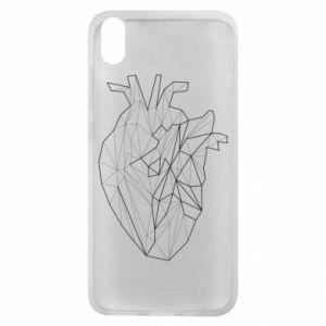 Etui na Xiaomi Redmi 7A Heart line