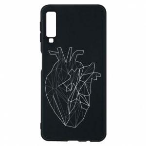 Etui na Samsung A7 2018 Heart line