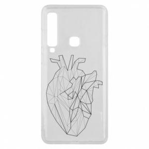 Etui na Samsung A9 2018 Heart line