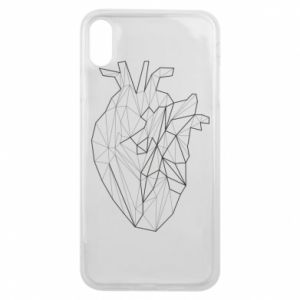 Etui na iPhone Xs Max Heart line