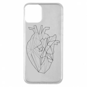 Etui na iPhone 11 Heart line