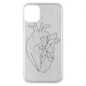 Etui na iPhone 11 Pro Heart line