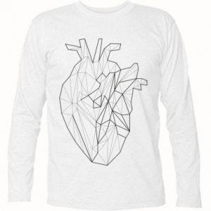Koszulka z długim rękawem Heart line