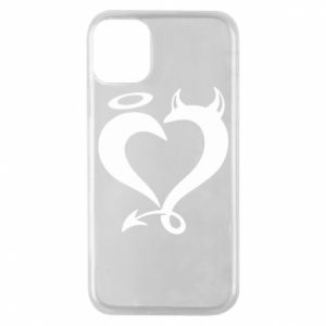 Etui na iPhone 11 Pro Heart of satan