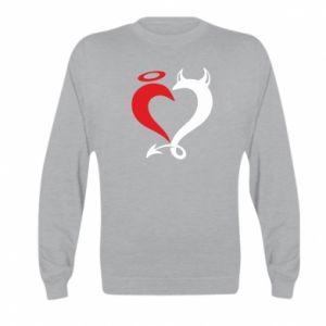 Bluza dziecięca Heart of satan