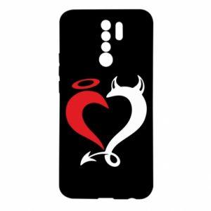 Etui na Xiaomi Redmi 9 Heart of satan