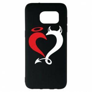 Etui na Samsung S7 EDGE Heart of satan