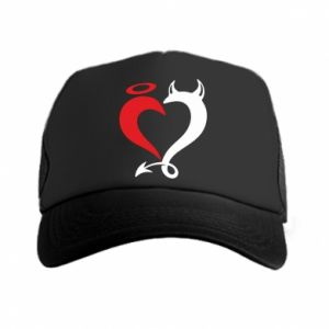 Czapka trucker Heart of satan