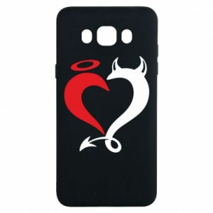 Etui na Samsung J7 2016 Heart of satan