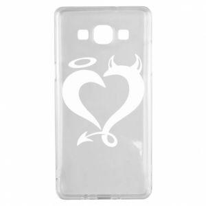 Etui na Samsung A5 2015 Heart of satan