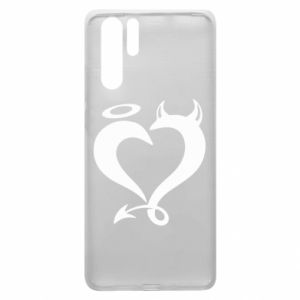 Etui na Huawei P30 Pro Heart of satan