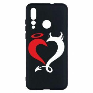 Etui na Huawei Nova 4 Heart of satan