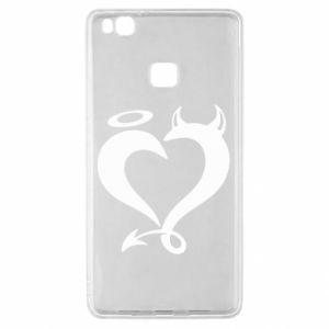 Etui na Huawei P9 Lite Heart of satan