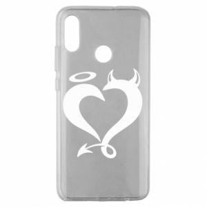 Etui na Huawei Honor 10 Lite Heart of satan