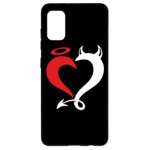 Etui na Samsung A41 Heart of satan
