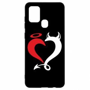 Etui na Samsung A21s Heart of satan