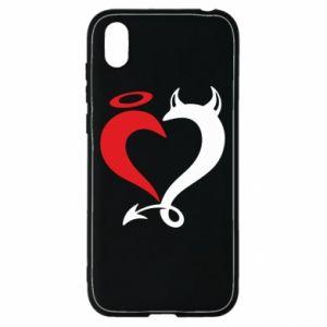Etui na Huawei Y5 2019 Heart of satan