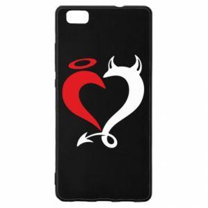 Etui na Huawei P 8 Lite Heart of satan