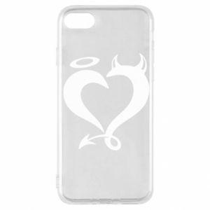 Etui na iPhone SE 2020 Heart of satan