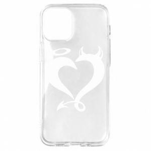 Etui na iPhone 12 Mini Heart of satan