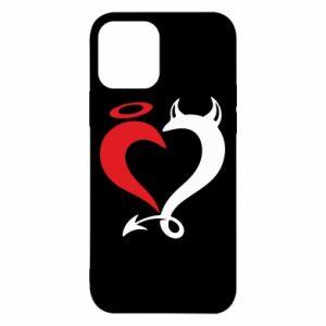 Etui na iPhone 12/12 Pro Heart of satan