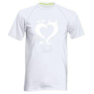 Koszulka sportowa męska Heart of satan