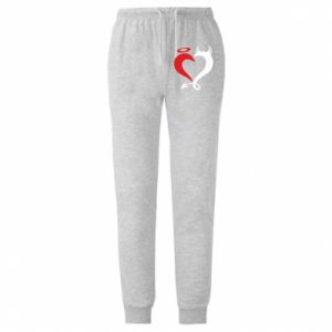 Spodnie lekkie męskie Heart of satan