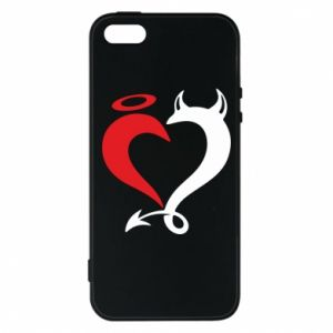 Etui na iPhone 5/5S/SE Heart of satan