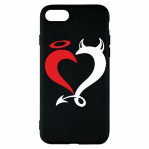 Etui na iPhone 7 Heart of satan