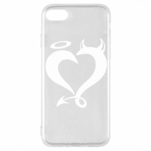 Etui na iPhone 8 Heart of satan