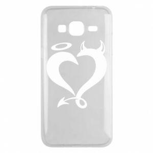 Etui na Samsung J3 2016 Heart of satan