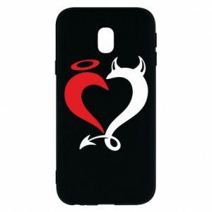 Etui na Samsung J3 2017 Heart of satan