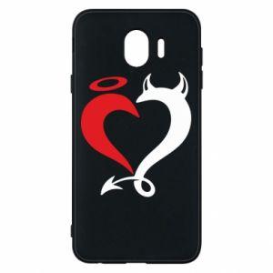 Etui na Samsung J4 Heart of satan