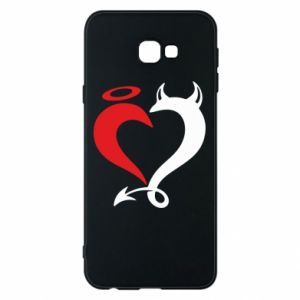 Etui na Samsung J4 Plus 2018 Heart of satan