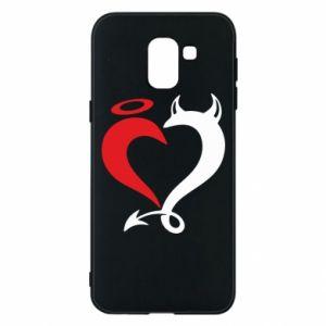 Etui na Samsung J6 Heart of satan